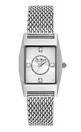 Ted Baker Women's TE4087 Dress Sport Triple Silver Rectangle Analog Bracelet Watch