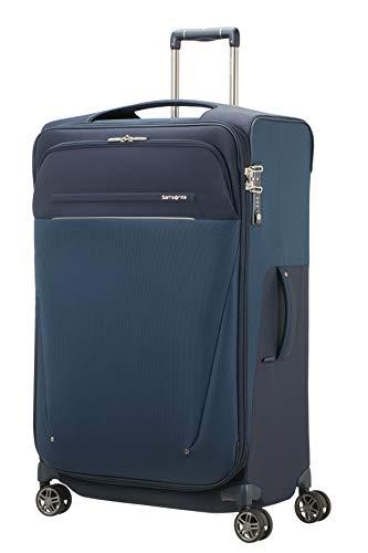 SAMSONITE B-Lite Icon - Spinner 78/31 Expandable, 107.5 L, 2.9 KG Hand Luggage, 78 cm, 117.5 liters, Blue (Dark Blue)