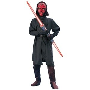 [Darth Maul Star Wars Child Costume] (Child Darth Maul Costumes)