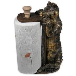 River's Edge Alligator Paper Towel Holder