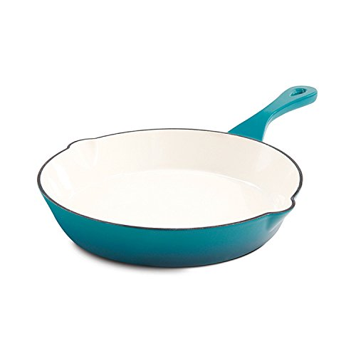 10 enameled cast iron skillet - 1