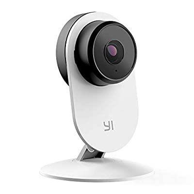 YI Home Camera 3, AI-Powered 1080p Security Surveillance System Indoor House Cam with Human Detection, Wireless Wi-Fi, Two-Way Audio, App for Baby Nanny Pet Dog Monitor - 6-Month Free Cloud Service