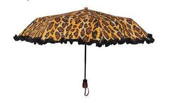 adrienne-landau-womens-compact-ruffle-umbrellaleopard-blackus