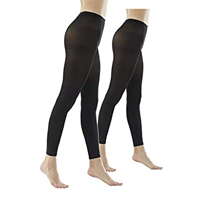 Women's 80Denier Semi Opaque Solid Color Footless Pantyhose Tights at Women's Clothing store