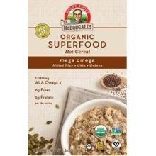 Dr Mcdougalls Superfood Organic Mega Omega Oatmeal, 5.3 Ounce -- 8 per case.