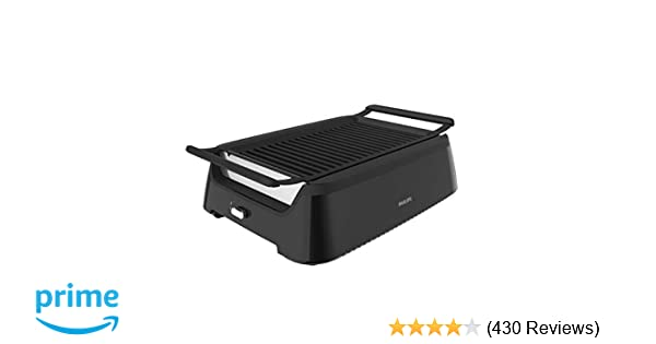 Philips Smoke-less Indoor BBQ Grill, Avance Collection