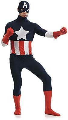 ZZX Traje De Cosplay del Súper Héroe del Capitán América De ...