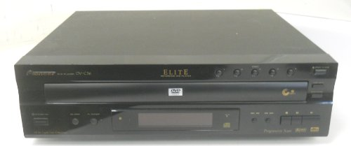 Pioneer Cd Recorder (Pioneer DV-C36 Elite Reference 5 DVD CD Changer dts Digital Out Dolby Progressive Scan Compact Disc Video)