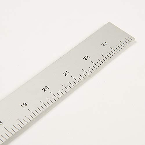Tailoring Ruler Garment Ruler Dihan 5324a 12 24 Inch Two Sided L Square Metal Measuring Solid
