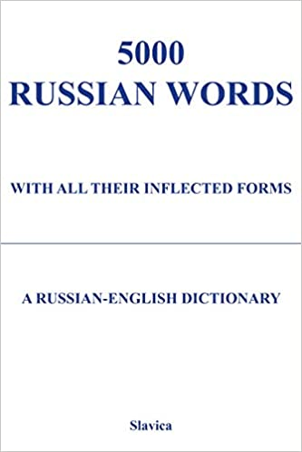 Amazon com: 5000 Russian Words: With All Their Inflected