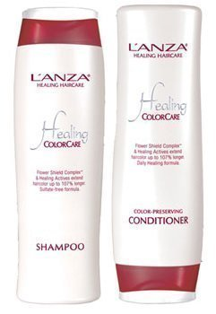 Lanza Healing ColorCare Color Preserving Shampoo 10.1 oz & C