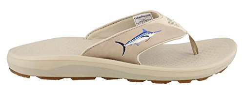 Columbia Fish Flip Sandalo Da Uomo Antico Fossile / Oxford Tan