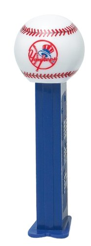 New York Yankees MLB Pez caramelo Dispensadores (12 Pack)