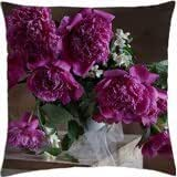 Beautiful Peonies - Throw Pillow Cover Case (18