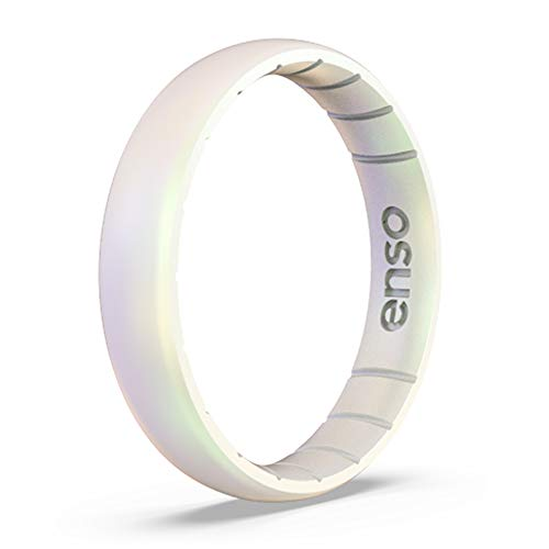 Enso Rings Thin Legend Silicone Ring - Made in The USA - Ultra Comfortable, Breathable and Safe - Award Winning Customer Service (Unicorn, ()