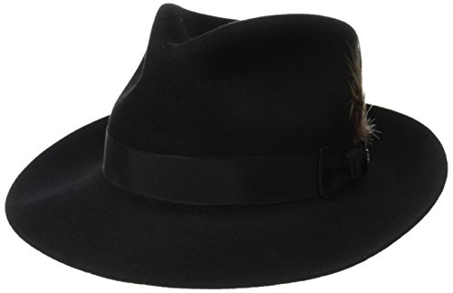 - Stetson Men's Stetspm Chatham Royal Deluxefur Felt Hat, Black 7.25