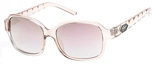 n's Quilted Temple Sunglasses, Champagne Frames/Rose Lens (Harley Davidson Prescription Sunglasses)