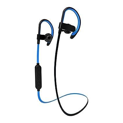 Sencillo Vida Auriculares Deportivos magnético Bluetooth V4.1 inalámbricos de Cancelación de Ruido Activa,