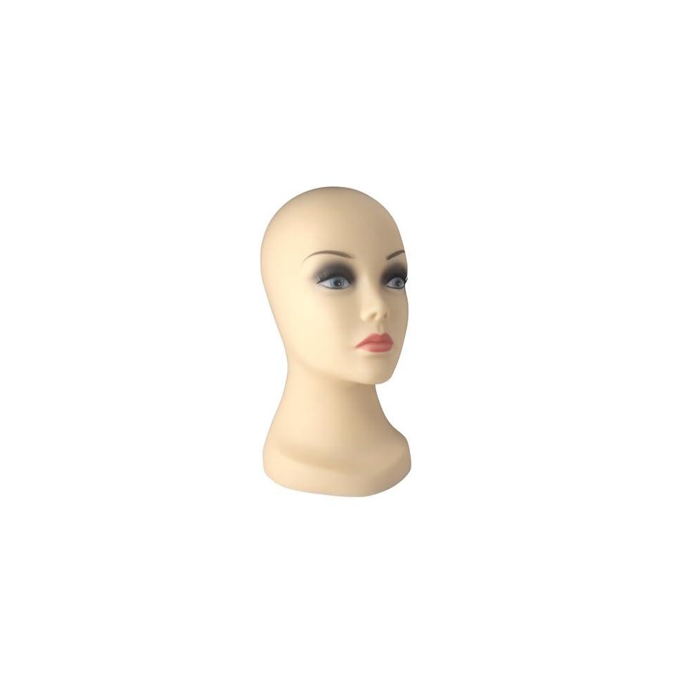 Wig Display Mannequin Head 12 Inch (Light)