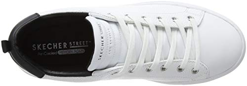 Skechers Sneaker Side Street Bianco Donna White Wht Tegu Hq8Ux4H