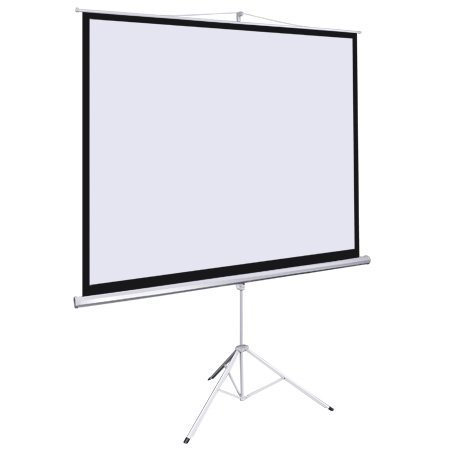 Manual Pull Down 70x70-in View Projection Screen 100