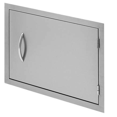 Cal Flame 089245002512 27 Inch Outdoor Horizontal Access Door, Stainless Steel