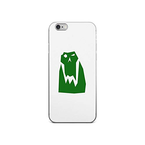 iPhone 6 Case iPhone 6s Case Clear Anti-Scratch Orc Head (Green), orc Cover Phone Cases for iPhone 6/iPhone 6s, Crystal Clear -