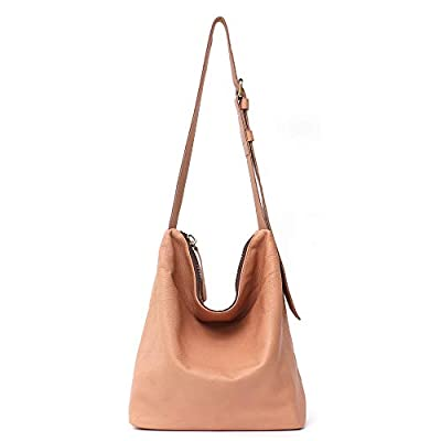 STEPHIECATH Genuine Cow Leather Women's Crossbody Bags Large Fashion Casual Style Italian Real Leather Handmade Shoulder Bag Purse