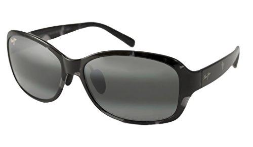 Maui JIm Koki Beach 433 Sunglasses, Black & Grey Tortoise/Grey Lens, - Made Japan In Jim Sunglasses Maui