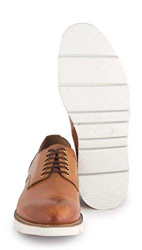 Hudson Cason - derby cordones de cuero hombre marrón - marrón (Tan)