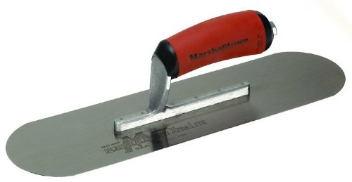 MARSHALLTOWN The Premier Line SP14SD 14-Inch by 4-Inch Pool Trowel with DuraSoft Handle
