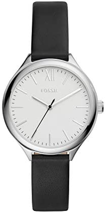 Fossil Women's Suitor Metal and Leather Dress Quartz Watch