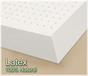 "Queen 2"" Dunlop Latex Mattress Topper"