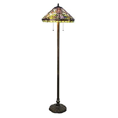Tiffany Style Calla Lilly Floor Lamp