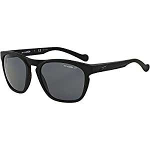Arnette Groove Unisex Polarized Sunglasses - 447/81 Fuzzy Black/Grey