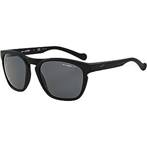 Arnette Groove Unisex Polarized Sunglasses - 447/81 Fuzzy Black/Grey
