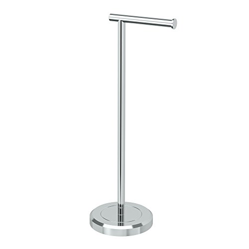 Gatco 1437C Latitude II Tissue Holder Stand, Chrome