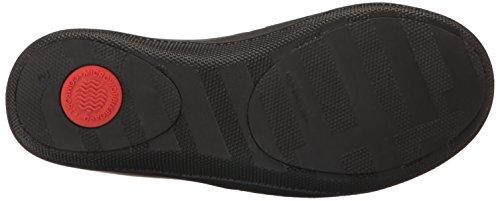 Fitflop Ringer Welljelly Flip Flops - Sandalias con Tacón Mujer Black (All Black)