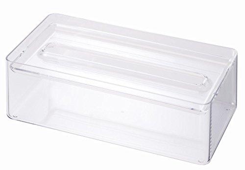 YAMAZAKI Tissue Box Holder-Dispenser and Organizer for Kleenex