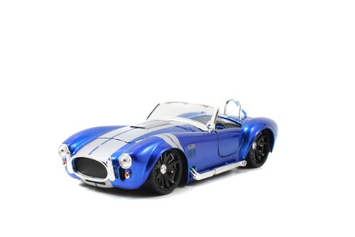 (Big Time Muscle 1965 Shelby Cobra 1/24 Blue)