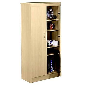 Natural Maple Storage Cabinet