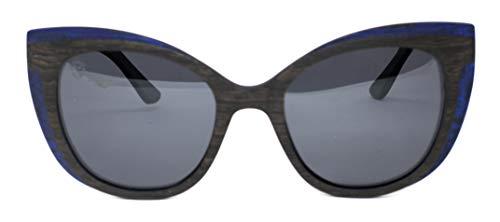 Óculos De Sol De Madeira Helen, MafiawooD