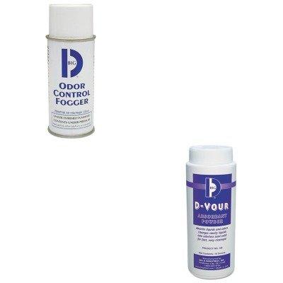 KITBGD166BGD341 - Value Kit - D Vour Absorbent Powder (BGD166) and Odor Control Fogger (BGD341)