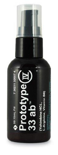 Prototype IV 33 AB - gel de testostérone pour les hommes - Augmentation de renforcement musculaire et d'augmenter votre testostérone naturellement
