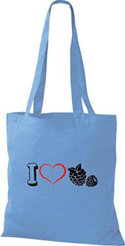 De Shirtstown Azul Para Tela Mujer Bolso Algodón Claro UU5Pq