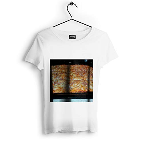 Westlake Art - Pizza Food - Unisex Tshirt - Picture Photography Artwork Shirt - White Adult Medium (D41D8)