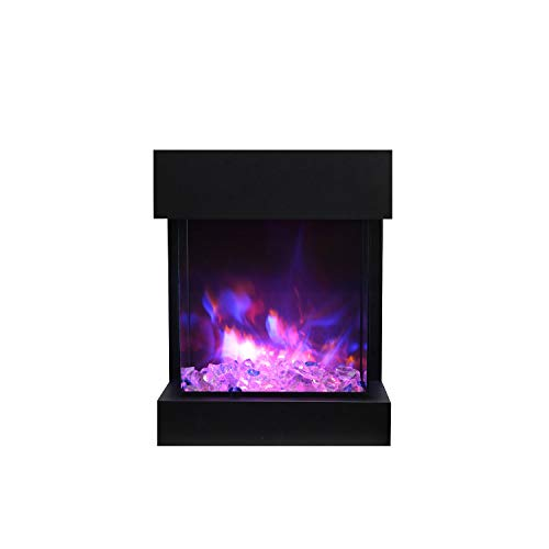 Cheap Amantii CUBE-2025WM Cube 3-Sided Electric Fireplace Black Friday & Cyber Monday 2019