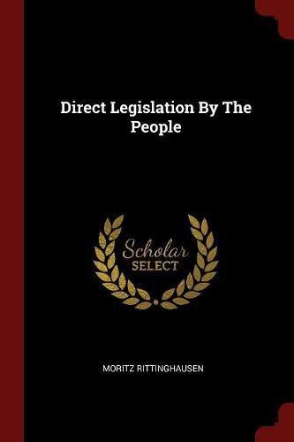Read Online Direct Legislation By The People pdf epub