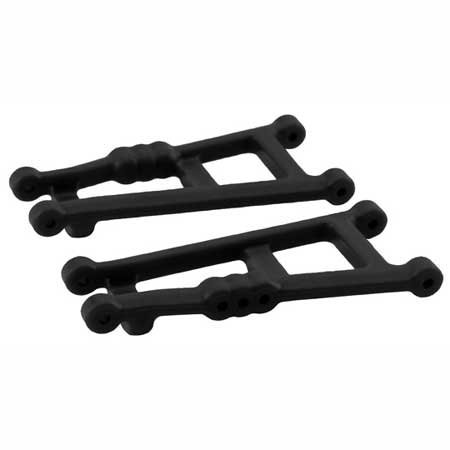 Nitro Rustler Accessories - RPM Rear A-Arms Nitro: Rustler, Stampede, Sport, Black