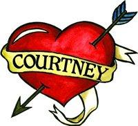 Courtney Temporaray Tattoo